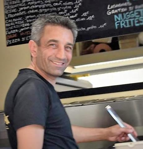 Joseph, le fondateur de la Cuisine en Mouvement